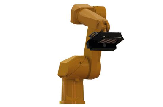 QualiSENSOR sur bras robotisé