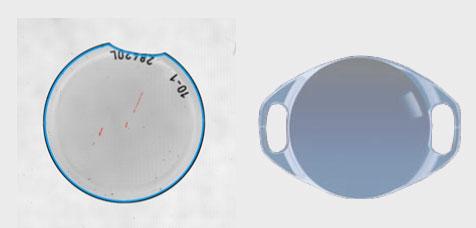 Contrôle des lens dimensions