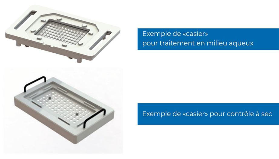 Exemple de casiers QualiLENS pro